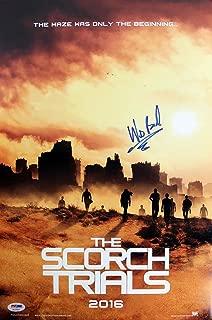 Wes Ball Maze Runner: Scorch Trials Signed 12x18 Photo #AC17053 - PSA/DNA Certified