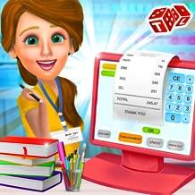 High School Book Store Cashier- Kids Game