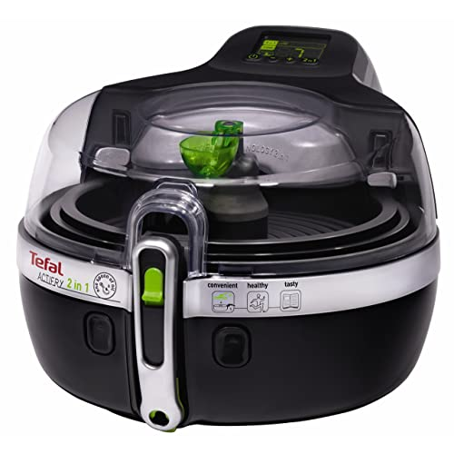 Tefal ActiFry 2-in-1 Low Fat Healthy Air Fryer, 1.5 kg - Black