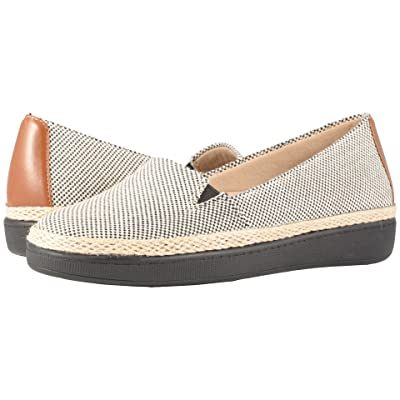 Trotters Accent (Black/Rust Linen/Smooth Man Made) Women