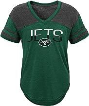 Outerstuff NFL NFL New York Jets Juniors Traditional Short Sleeve Tee Hunter Green, Juniors Medium(7-9)