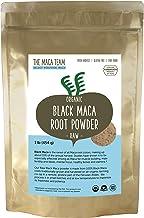 The Maca Team Raw Black Maca Powder, Raw and Vegan Maca Powder Fresh from Peru,1 Pound, 50 Servings