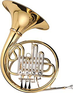 Kaizer French Horn Bb A 3000 C-Series Gold Lacquer with Case & Accessories FRH-3500LQRC-BA