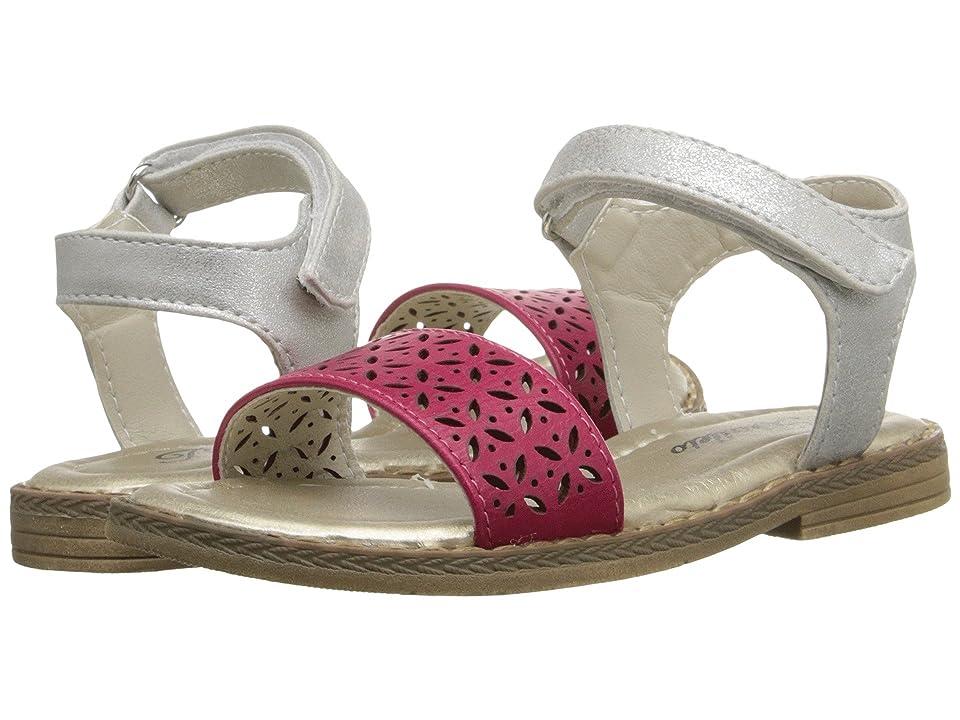 Jumping Jacks Kids Sandra (Toddler/Little Kid) (Fuchsia Pink/Silver) Girls Shoes