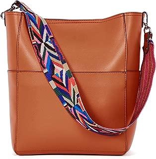 BROMEN Women Handbags Designer Leather Hobo Bags Shoulder Bucket Purse Crossbody Purses and Handbags