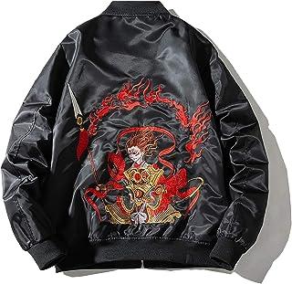 XYXIONGMAO Chinese Style Nezha Men'S Streetwear Oversized Bomber Jacket Male Couple Hip-Hop Clothing Bomber Jacket