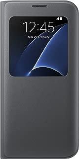Samsung Galaxy S7 edge Case S-View Flip Cover - Black
