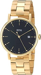 Vestal Unisex SP36M02.3GDX Sophisticate 36 Metal Analog Display Swiss Quartz Gold Watch