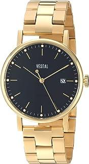 ساعة فيستل للجنسين SP36M02.3GDX سوفيستيكا 36 معدنية انالوج بعقارب كوارتز سويسرية ذهبي