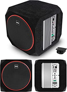 $164 » BOSS Audio Systems CUBE8 Car Subwoofer and Amp Package – 400W High Output, Built-in Amplifier, 8 Inch Subwoofer, Remote Su...