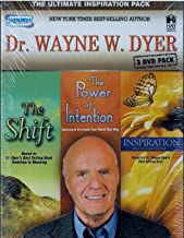 Dr. Wayne W. Dyer 3 Dvd Pack (The Shift/ The Power Of Intention/ Inspiration) The Ultimate Inspiration Pack