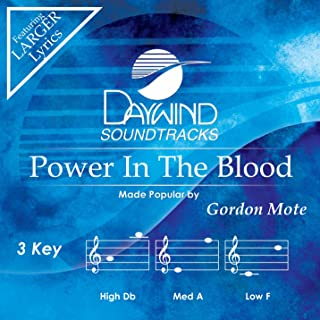 Power In The Blood Accompaniment/Performance Track