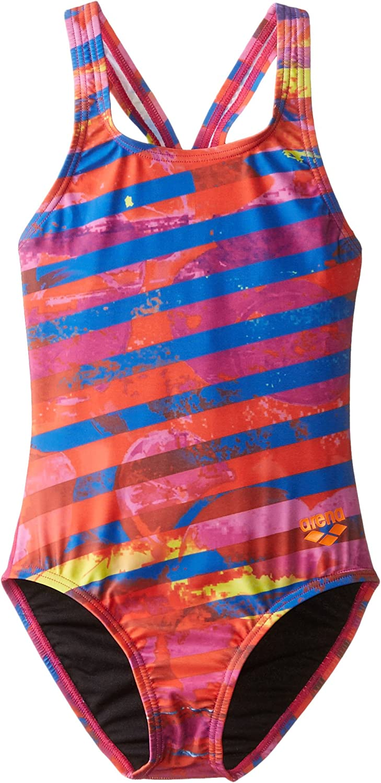 Over item handling ☆ Arena Girls Citrus One Piece Training San Diego Mall Back Pro Swim Suit