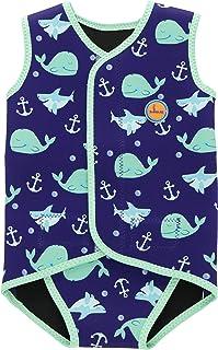 Envoltura de natación para bebés Traje de Neopreno Traje de Abrigo para niños Traje de baño UV para niñas