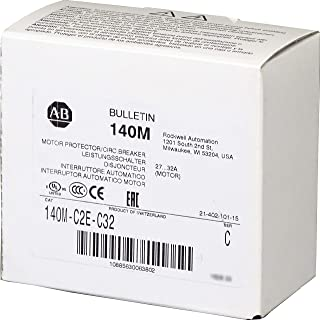 Allen-Bradley 140M-C2E-C32 Motor Protection Circuit Breaker, 27-32 A, Std. Performance, Frame C, Supplied by Industrial Spares
