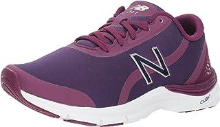 New Balance Women's 711v3 Cush + Cross Trainer, Magenta, 6.5 B US