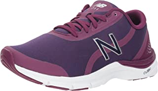 New Balance Women's 711v3 Cush + Cross Trainer, Magenta, 6.5 B US