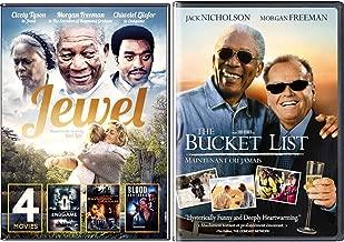 The Bucket List Jack Nicholson & Morgan Freeman Jewel / End Game / Blood Brothers / Execution of Raymond Graham Bundle Feature Movie Set