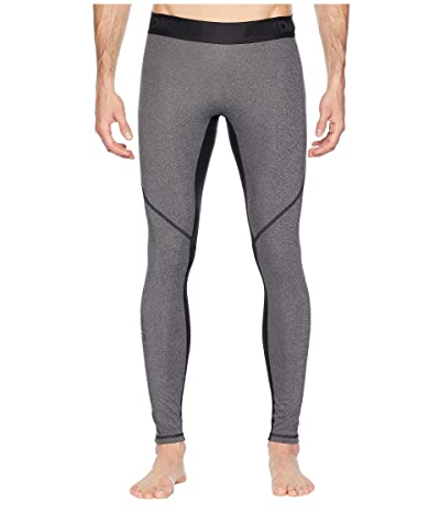 adidas Alphaskin Sport Long Tights (Black Heather) Men