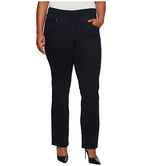 7e1065528d997 Jag Jeans Plus Size Plus Size Peri Pull-on Straight in After Midnight