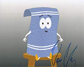 VERNON CHATMAN signed (SOUTH PARK) Towelie 8X10 photo autographed W/COA #12