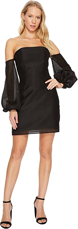 KEEPSAKE THE LABEL - Call Me Long Sleeve Mini Dress