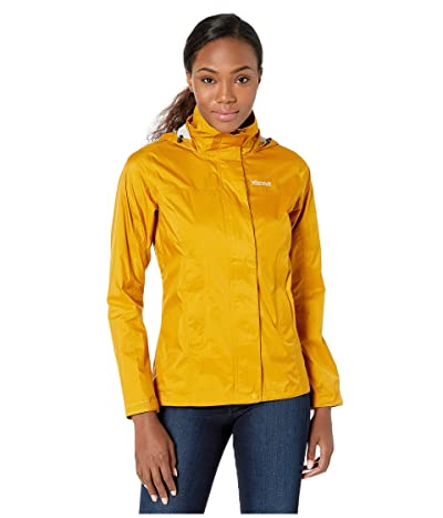 Marmot PreCip(r) Eco Jacket (Yellow Gold) Women