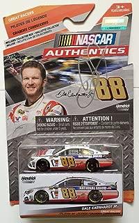 2015 Dale Earnhardt Jr Signed National Guard 1/64 Diecast Nascar Authentic Car B - Autographed Diecast Cars