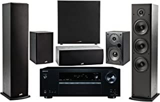 Onkyo 5.2 -Channel Wireless Bluetooth 4K 3D A/V Surround Sound Multimedia Home Theater System