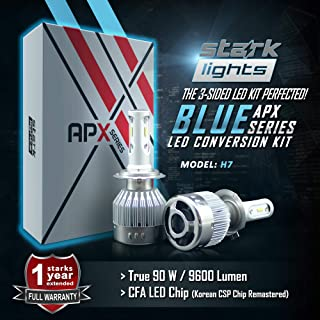 Stark APX 90W 9600LM LED Light 8000K Blue High Power Kit - Low Beam/High
