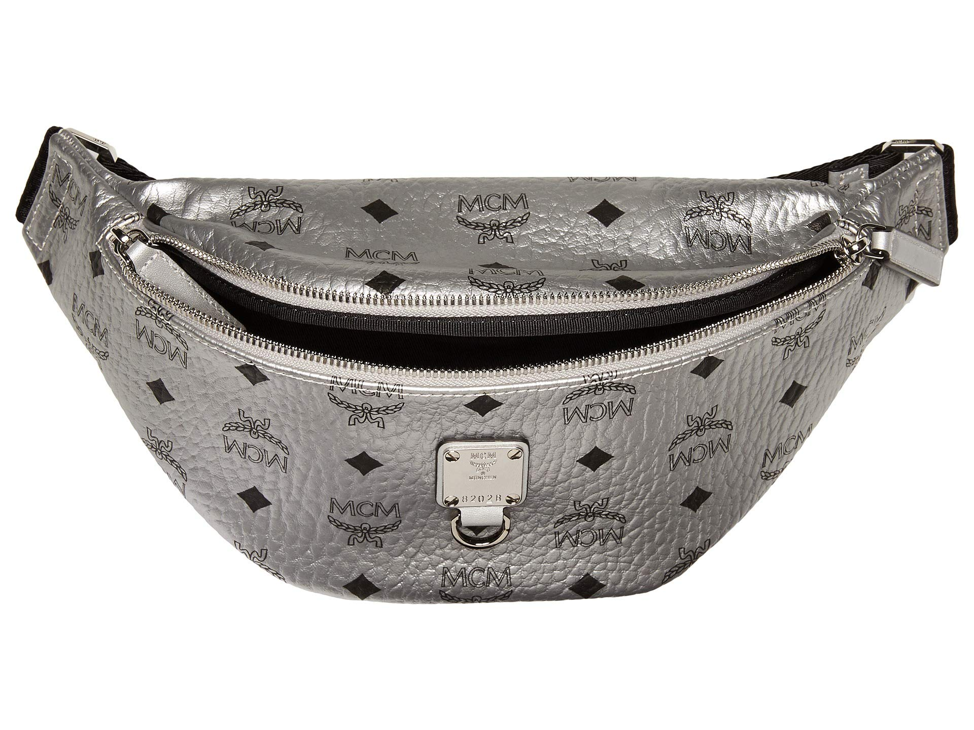 Berlin Visetos Small Bag Mcm Silver Belt Fursten 5BwxqX