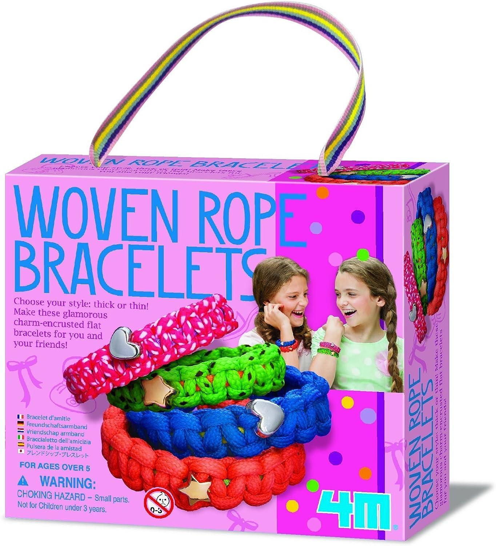 JJ's Gift Shop ideal für für für Kinder über dem Jahre 5 4M Mode Gewebte Seilarmbänder B07HH9BZXC | Gutes Design  f4cbf5