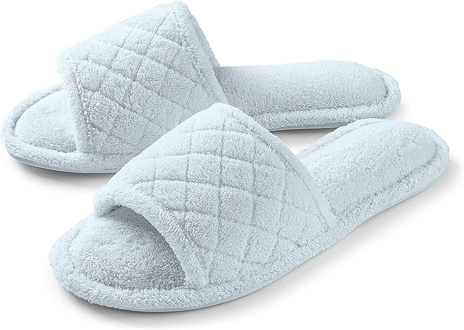 Roxoni Ultra Soft Limited Special Price Spa Slippers for Fuzzy Spasm price Terry Bathr Women Cozy