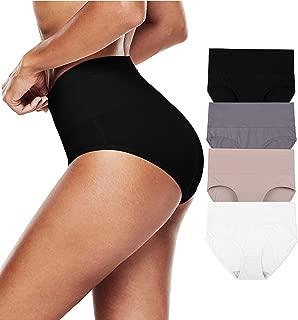 Women Underwear High Waist Panties Postpartum Cotton Full Briefs 4pack