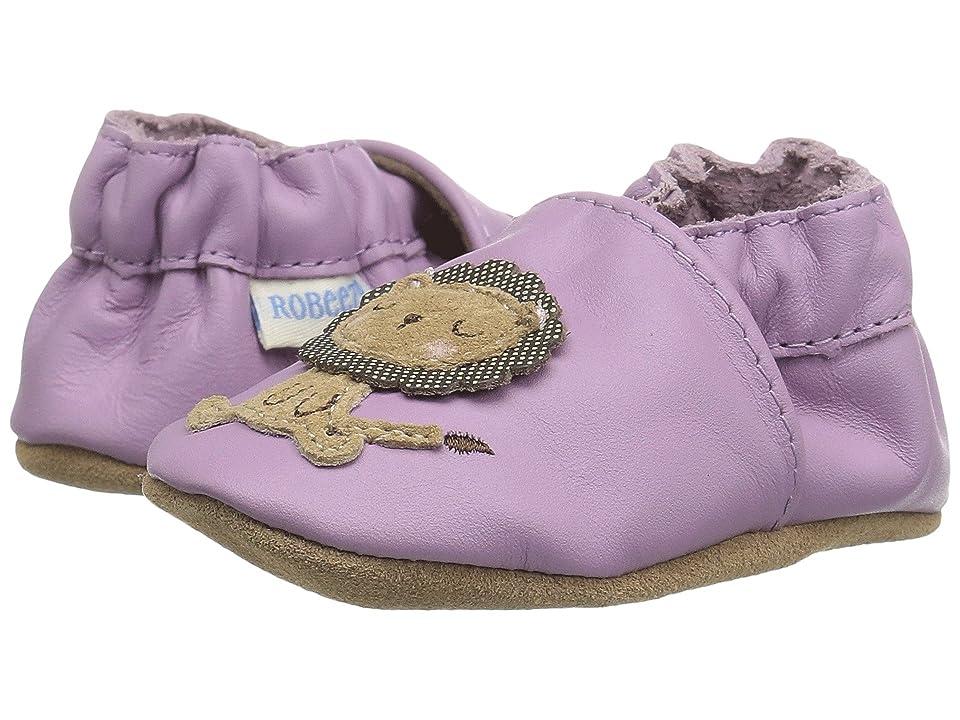 Robeez Lori The Lion Soft Sole (Infant/Toddler) (Purple) Girls Shoes