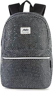 Bendopa Glitter Backpack for Teen Girls Laptop College Schoolbag Travel Bag Lightweight Casual Weekender Bag