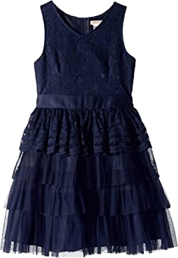 Lace Organza Dress (Little Kids/Big Kids)