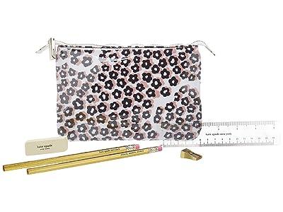 Kate Spade New York Pencil Pouch (Flair Flora) Wallet