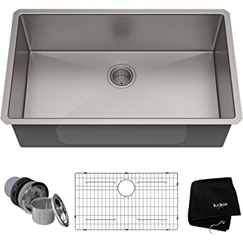 "Kraus 32"" Undermount Kitchen Sink 