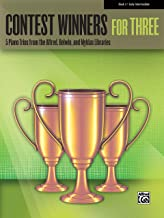 Contest Winners for Three, Bk 3: 5 Piano Trios from the Alfred, Belwin, and Myklas Libraries