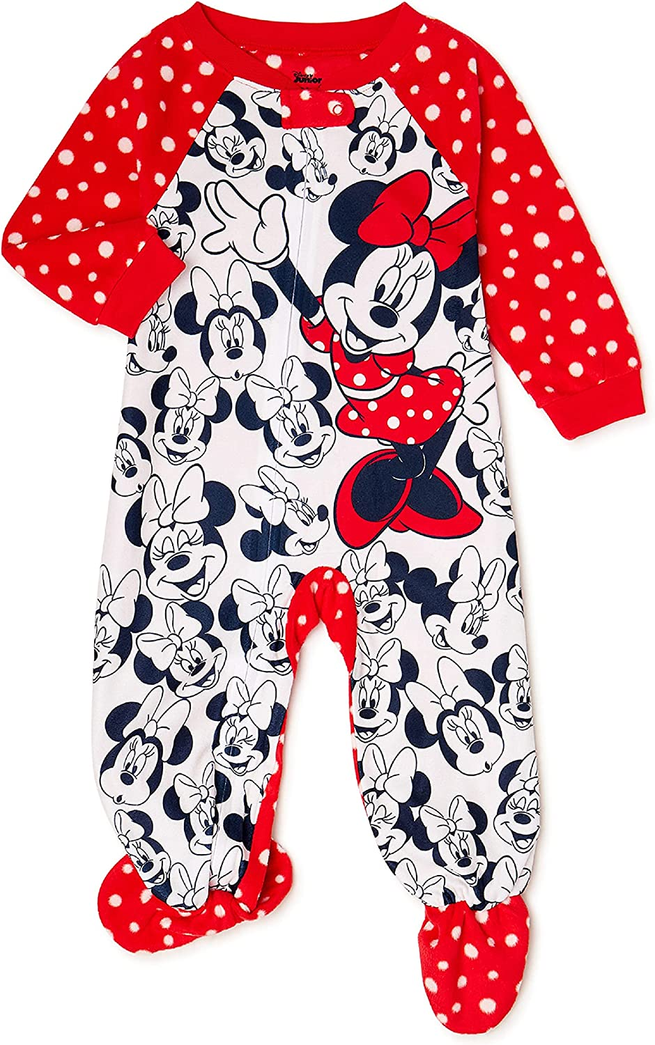 Minnie Mouse Baby & Toddler Girls Blanket Sleeper, Sizes 12M-5T