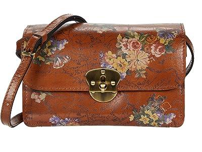Patricia Nash Cetara Crossbody (English Garden Floral Map) Handbags