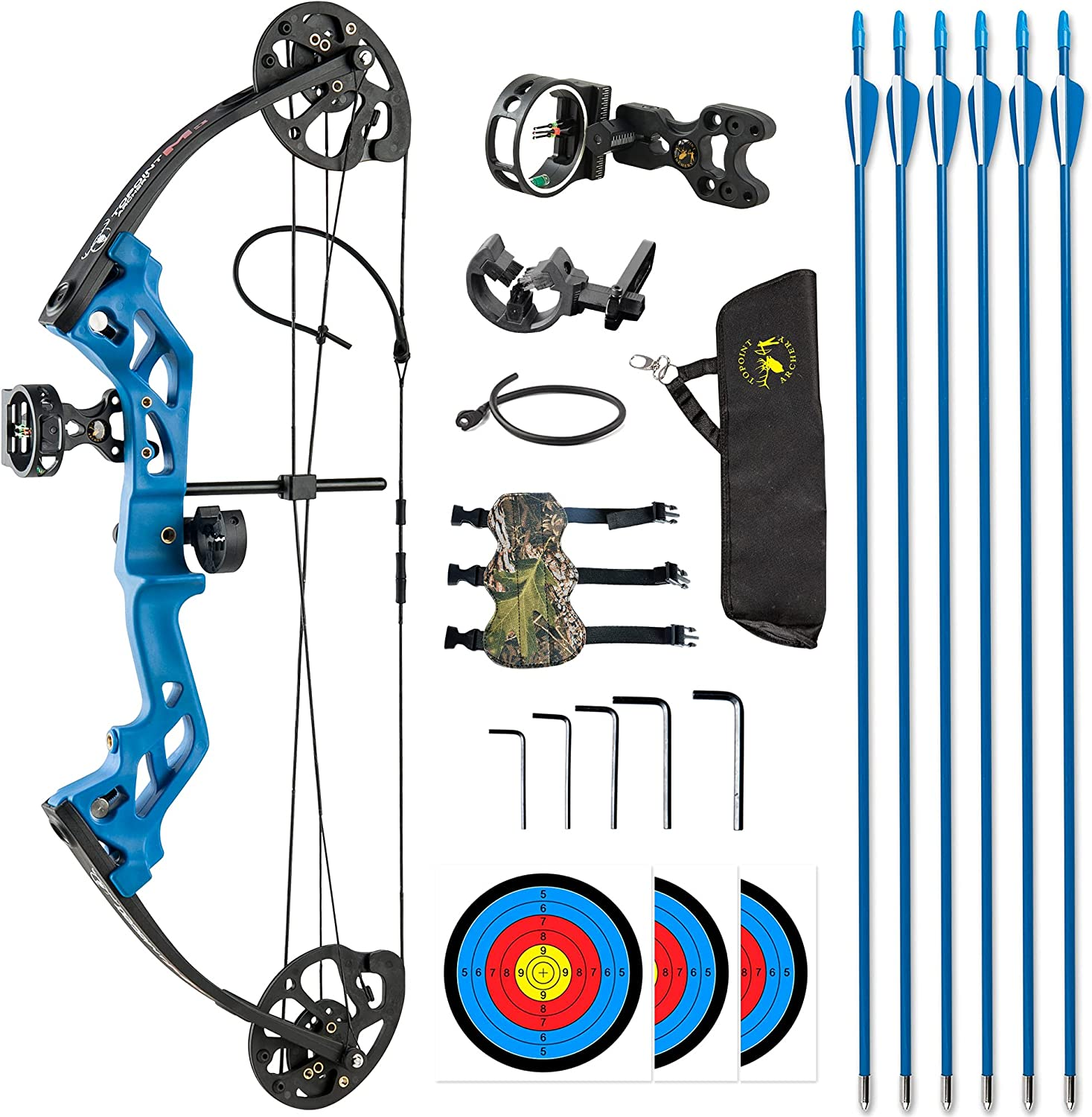 TOPOINT ARCHERY M3 Discount mail order Compound Bow Beginners JuniorKid Ranking TOP6 Package for