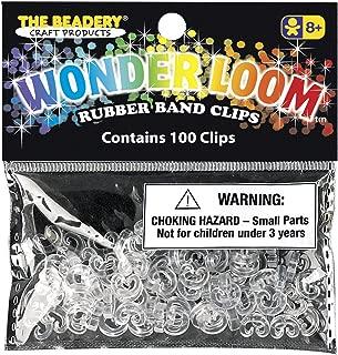 The Beadery 7307 100 C Clips, Crystal