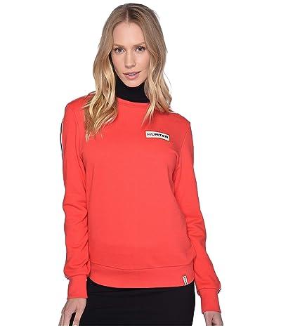 Hunter Original Campus Sweatshirt (Hunter Red) Women