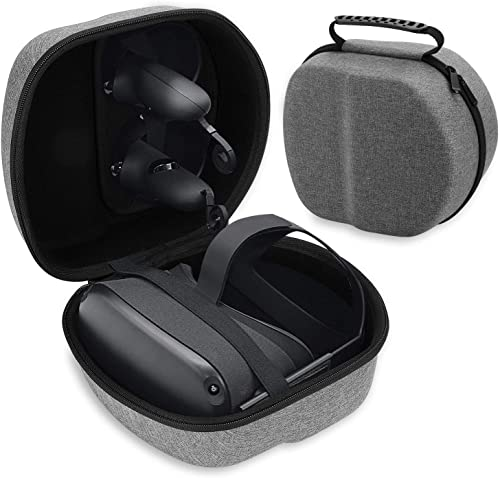 Hard Travel Case, Compact Carrying Case Compatible with Oculus Quest, Oculus Quest 2, Protect Oculus Quest VR Gaming ...