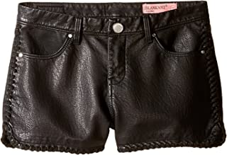 [ブランク ニューヨークシティー] Blank NYC Kids ガールズ Vegan Leather Detailed Shorts in Lace-Up (Big Kids) パンツ [並行輸入品]