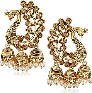 f652b2a61 Jhumki Women's Earrings: Buy Jhumki Women's Earrings online at best ...