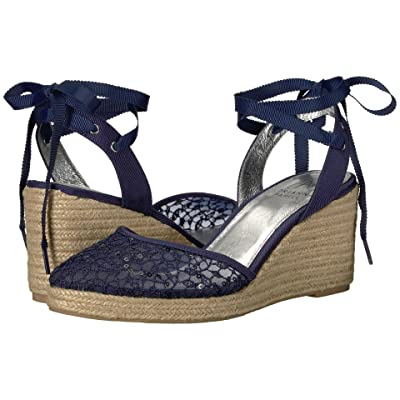 Adrianna Papell Pamela (Navy Martinique Lace) Women