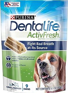 Dentalife Small/Medium Dog Treats, 9 Chews,
